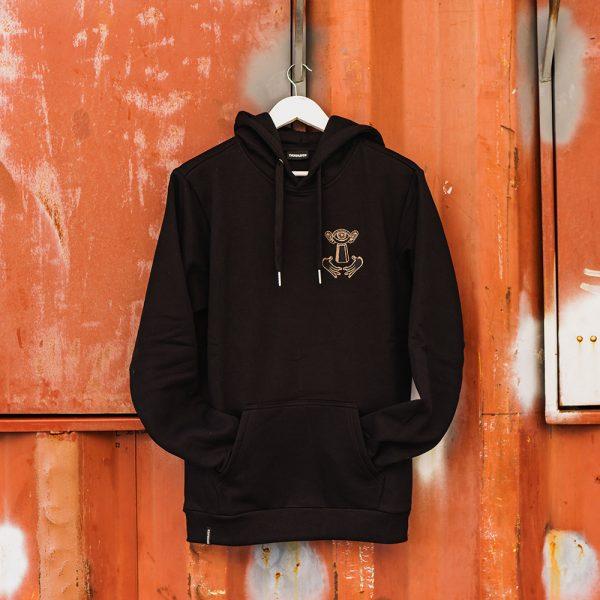Thuishaven hoodie black