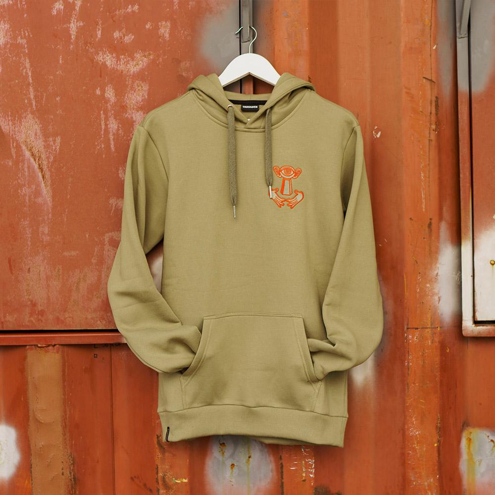 Thuishaven-hoodie-green